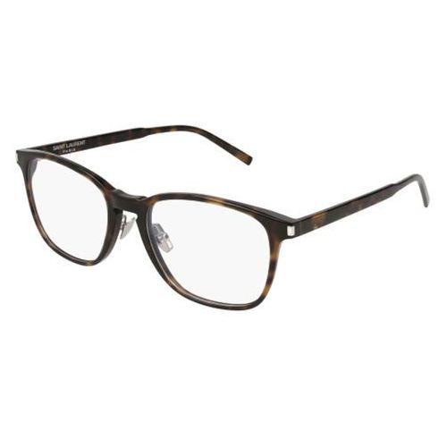 Okulary korekcyjne sl 186 slim 002 marki Saint laurent