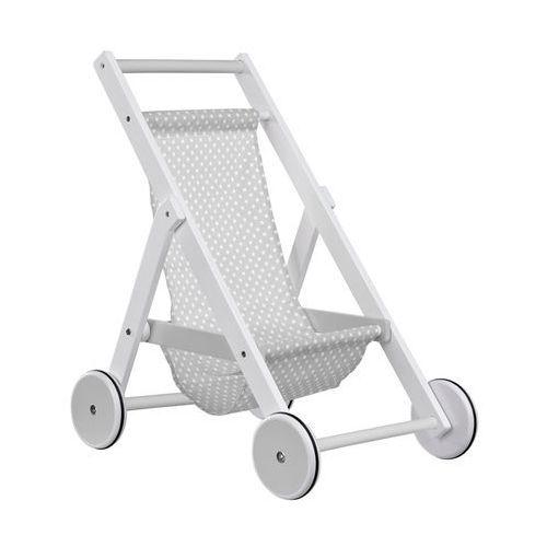 Kids Concept Drewniany Wózek dla Lalek Sza