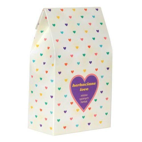 Cup&you cup and you Herbaciane love – prezent podarunek dla zakochanych na walentynki z herbatą wysokiej jakości 10*5g