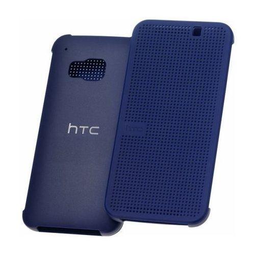 Etui Dot View HTC HC M231 Niebieskie do HTC ONE M9 (99H20103-00) - Niebieski z kategorii Pozostałe