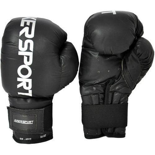 Rękawice bokserskie AXER SPORT A1337 Czarny (8 oz) + Zamów z DOSTAWĄ JUTRO!