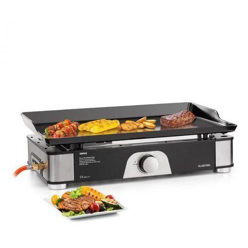 orfeo, grill stołowy gazowy, 3,5 kw, 350 °c, instantready concept, czarny marki Klarstein