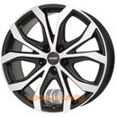w10x racing black frontpolished 8.00x18 5x108 et45, dot marki Alutec