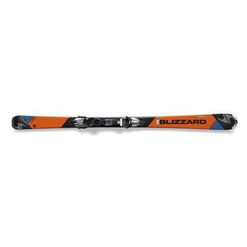 Narty zjazdowe rtx power (orange/black/blue) 139 marker fastrack 3 marki Blizzard