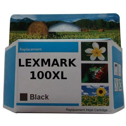Zastępczy atrament lexmark 100xl [14n1068e] black 100% nowy marki Orink