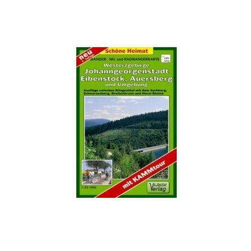 OKAZJA - Doktor Barthel Karte Westerzgebirge, Johanngeorgenstadt, Eibenstock, Auersberg und Umgebung