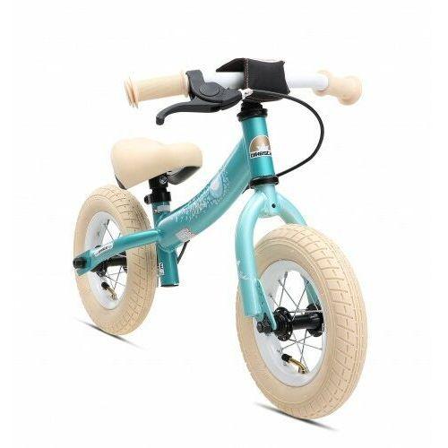 "Bikestar Rowerek biegowy 10"" germany sport, kolor turkus"