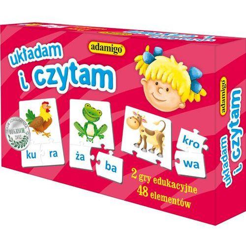 Adamigo , gra edukacyjna układam i czytama (5902410006618)