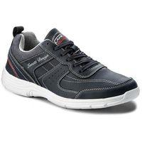 Sneakersy gino - mp40-7736j granatowy, Lanetti, 40-44
