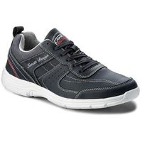 Sneakersy gino - mp40-7736j granatowy, Lanetti, 40-45