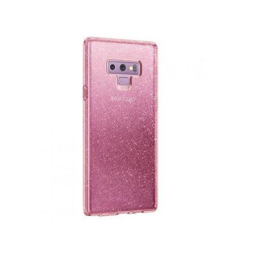 SPIGEN Liquid Crystal Glitter do Samsung Galaxy Note 9 Różowy, kolor różowy