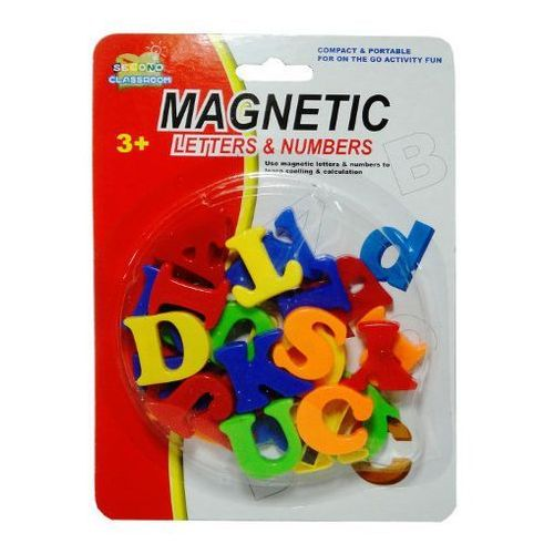 Zabawka  literki magnetyczne blister marki Swede