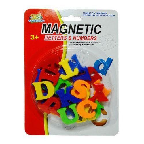 Zabawka SWEDE Literki magnetyczne blister (5902496112326)