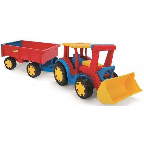 traktor gigant ładowarka z przyczepą 66300 marki Wader