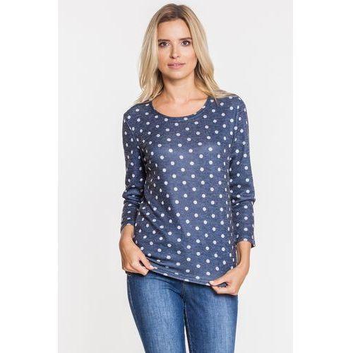 Dopasowana bluzka w grochy - marki Studio mody pdb