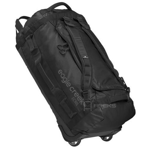 Eagle Creek Cargo Hauler Rolling Duffel 90L torba podróżna na kółkach 74 cm / składana / plecak / Black - Black, kolor czarny