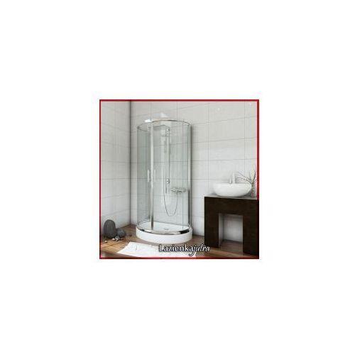 Metal-hurt sea horse Sigma zestaw kabina przyścienna 100x80x185 + brodzik + syfon, szkło transparentne bkz2/1/x * wysyłka gratis
