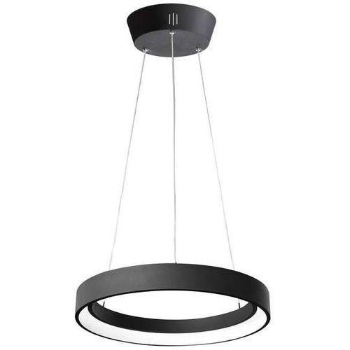 Italux Lampa wisząca regallo md1202606-1b bk okrągła oprawa zwis led 38w 3000k metalowy czarny (5900644403050)