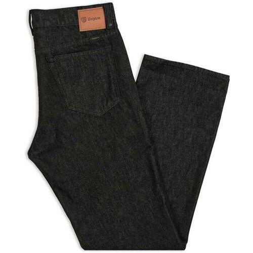 Brixton Spodnie - labor 5-pkt denim pant black (black) rozmiar: 31x32