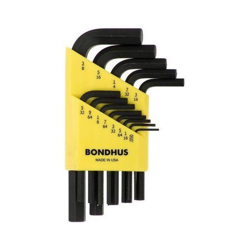 Zestaw kluczy imbusowych hex marki Bondhus