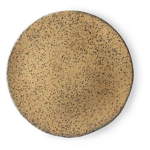 ceramika gradientowa: talerz obiadowy brzoskwiniowy ace6896 marki Hk living