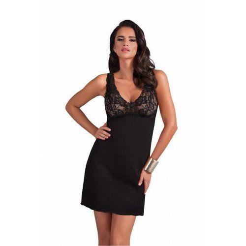Koszulka model sally miseczki soft black, Donna
