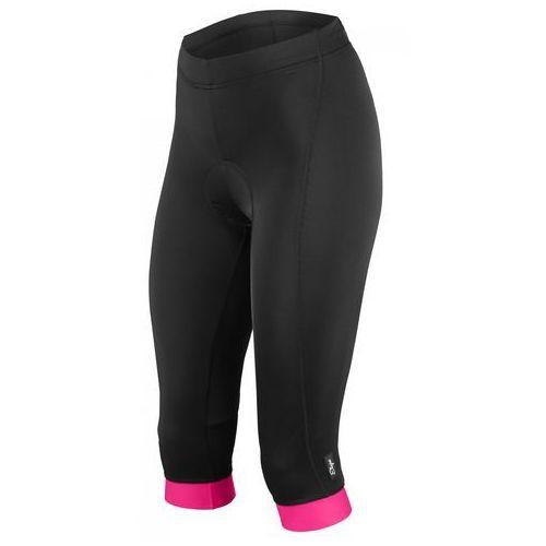 Etape spodenki rowerowe damskie Natty 3/4, czarno-różowy XL (8592201046656)