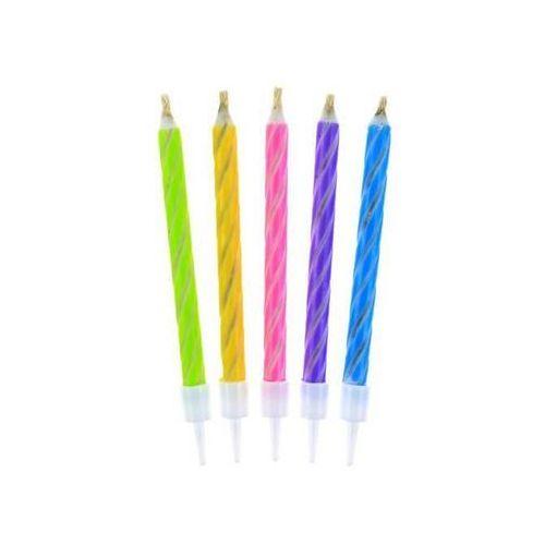 Świeczki urodzinowe magiczne - 10 szt.