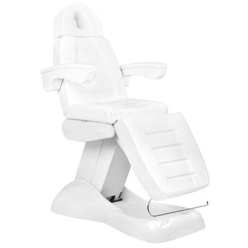 Fotel kosmetyczny elektr. lux 4m biały z kołyską marki Activ