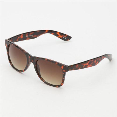 okulary słoneczne VANS - Spicoli 4 Shades Tortoise Shell Brown (1RE) rozmiar: OS, kolor brązowy