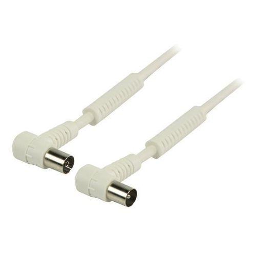 Kabel Valueline Antenowy 1.5m Biały (VLSP40120W15) Darmowy odbiór w 21 miastach!, VLSP40120W15