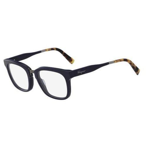 Salvatore ferragamo Okulary korekcyjne sf 2785 407