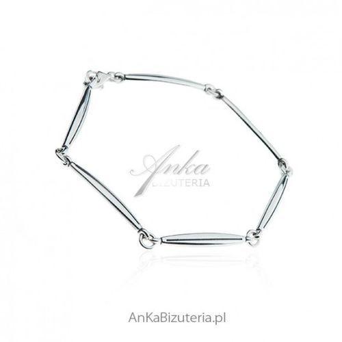 ec415554db0ccd Modna biżuteria damska - bransoletka sre... Producent AnKa Biżuteria;  Materiał srebro ...