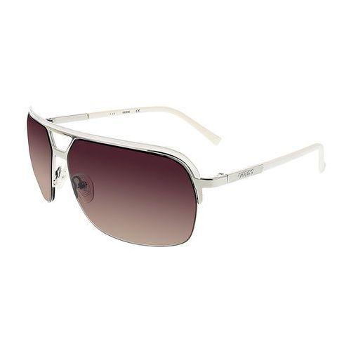 Okulary przeciwsłoneczne męskie GUESS - GF0159-35, kolor żółty