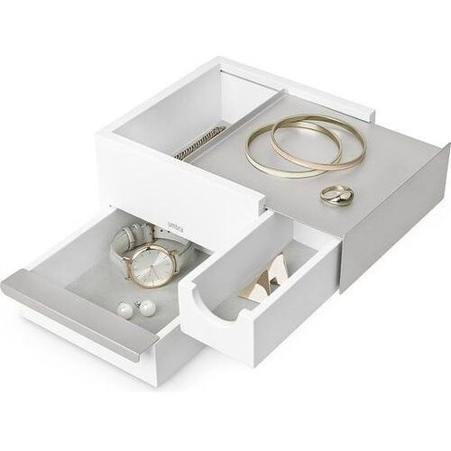 Szkatułka na biżuterię stowit mini biała