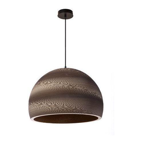 Lampa wisząca arte brązowa do salonu duża marki Sigma
