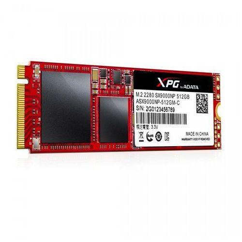Dysk SSD ADATA XPG SX9000 512GB PCIe x4 NVMe (ASX9000NP-512GM-C)