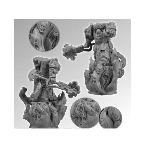 Scibor 28sf0050 - demon lord 28mm marki Scibor miniatures