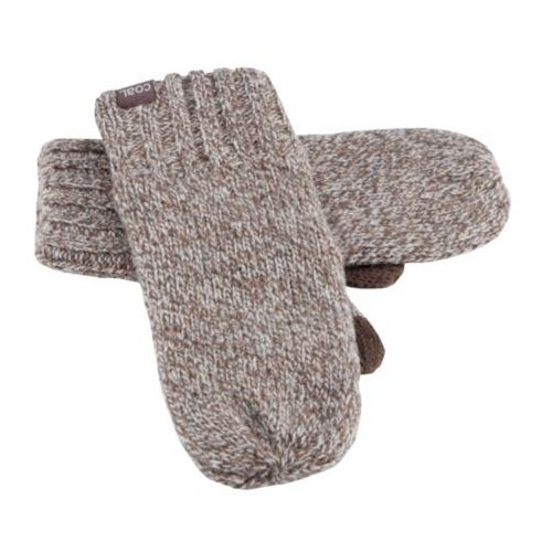 Nowe rękawiczki the rowan mitten brown marl marki Coal