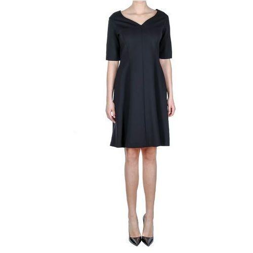 Czarna sukienka (Kolor: czarny, Rozmiar: 48), 1 rozmiar