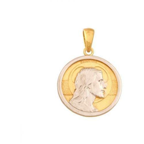 Złoty medalik - 41542 - pr.585 wyprodukowany przez Rodium