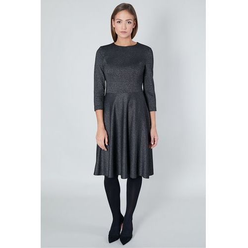 Wieczorowa sukienka z metalicznym połyskiem - Click Fashion, 1 rozmiar