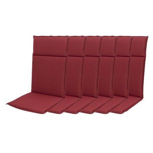 Doppler zestaw poduszek ogrodowych hit uni 8833 wysokie - 6 szt