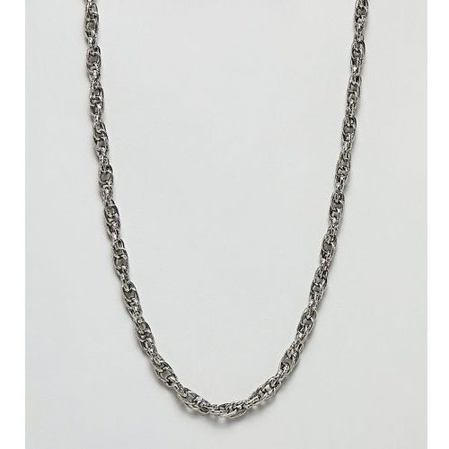twist chain necklace - silver marki Sacred hawk