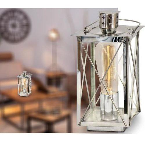 Eglo vintage lampa stołowa chrom, 1-punktowy - vintage - obszar wewnętrzny - vintage - czas dostawy: od 2-3 tygodni