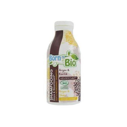 Soft & nourishing szampon odżywczy z olejem arganowym 300ml marki Born to bio