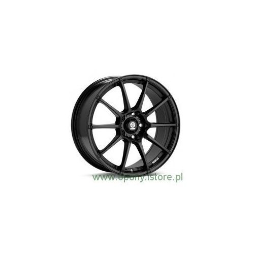 Sparco Felga aluminiowa  assetto gara black 7,5x17 5x112 et35