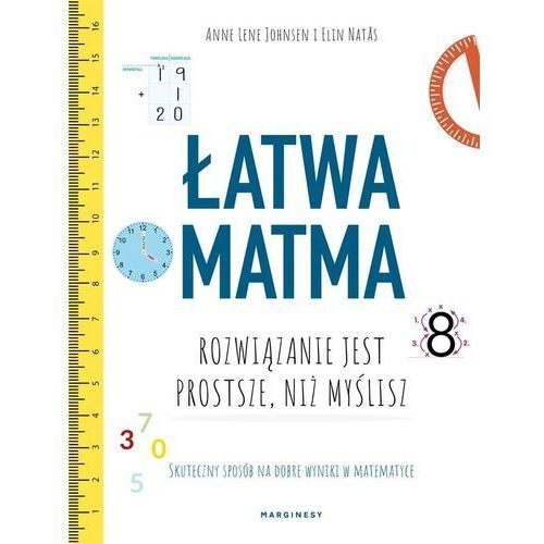 Łatwa matma - Natas Elin, Lene-Johnsen Anne, oprawa miękka