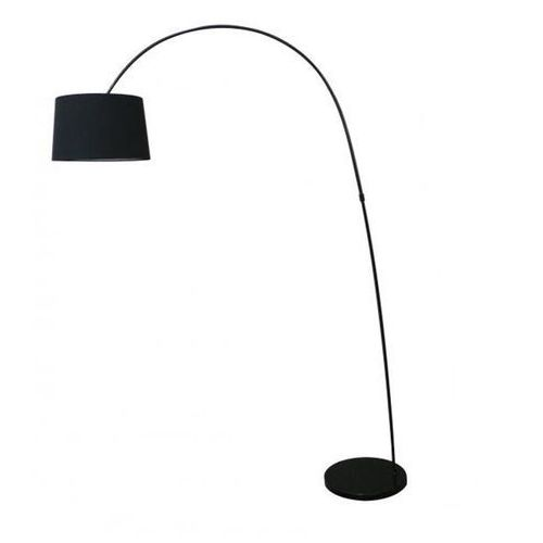 Azzardo ariana az0002 ts 070720f-bk lampa stojąca podłogowa 1x60w e27 czarna (5901238400028)