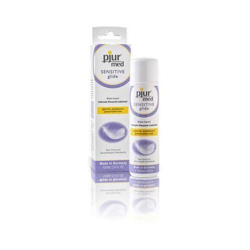 Żel pjur med sensitive glide waterbased 100 ml   100% dyskrecji   bezpieczne zakupy marki Pjur (ge)